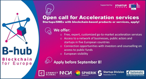 B-hub open call for acceleration services